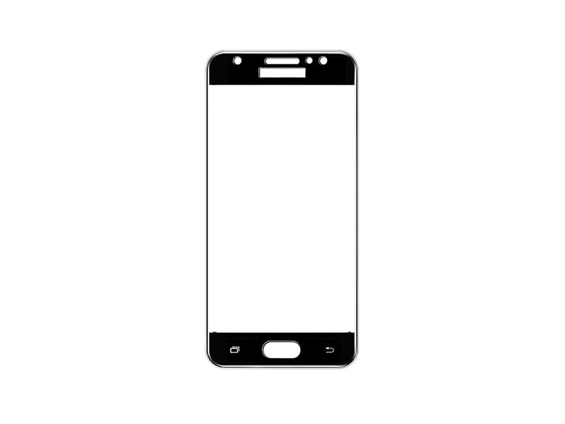 Samsung J7 Max Full Glued Tempered Glass Screen Protector