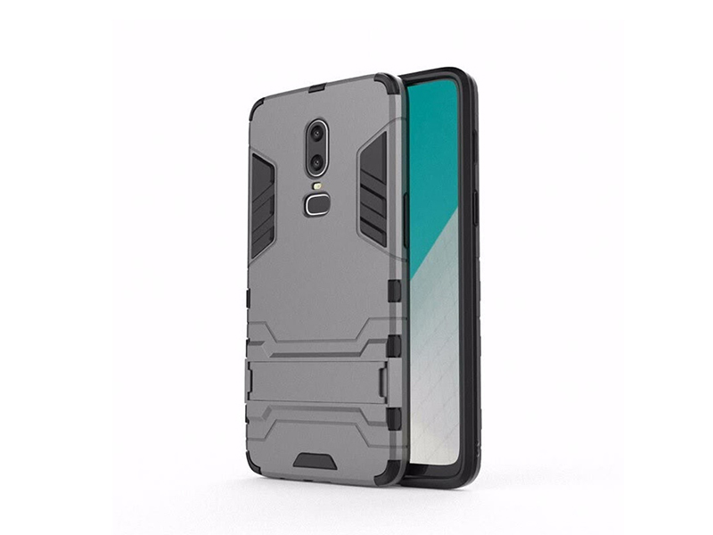 low priced 313b8 8d8fc Oneplus 6 Ironman Back Cover
