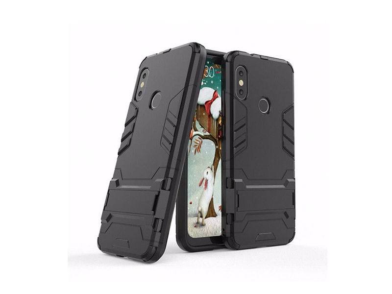 Xiaomi Redmi 6 pro Ironman Back Cover Black