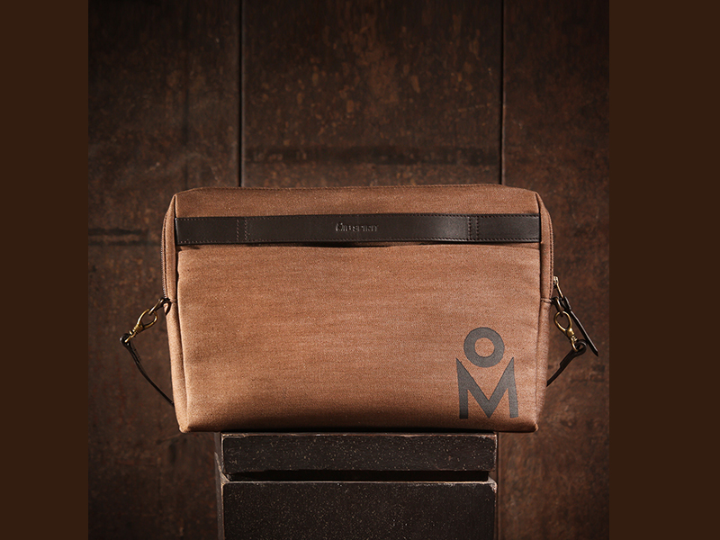 MIB Ethereal 13'' Messenger Bag For Laptop-Sepia