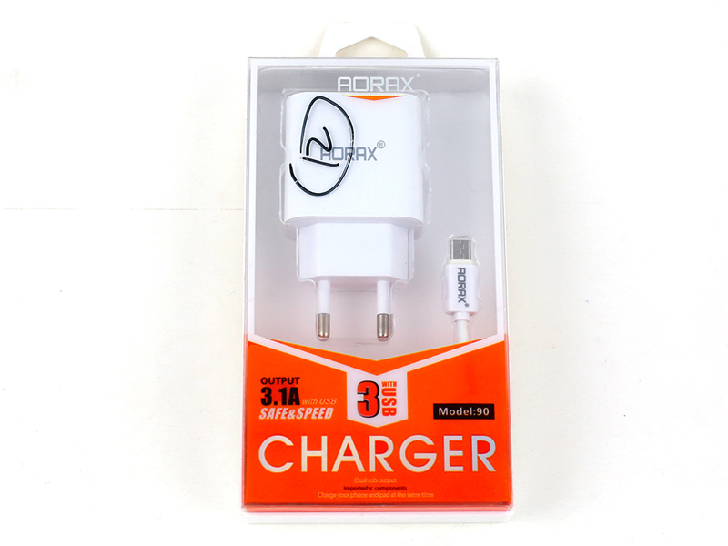 AORAX Charger With 3 USB