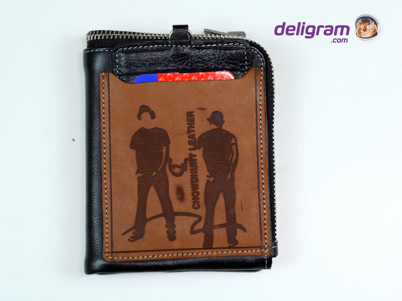 CL Black with Brown top Stylish Leather Wallet