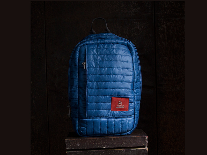 MIB Avenue- Blue Lining Backpack