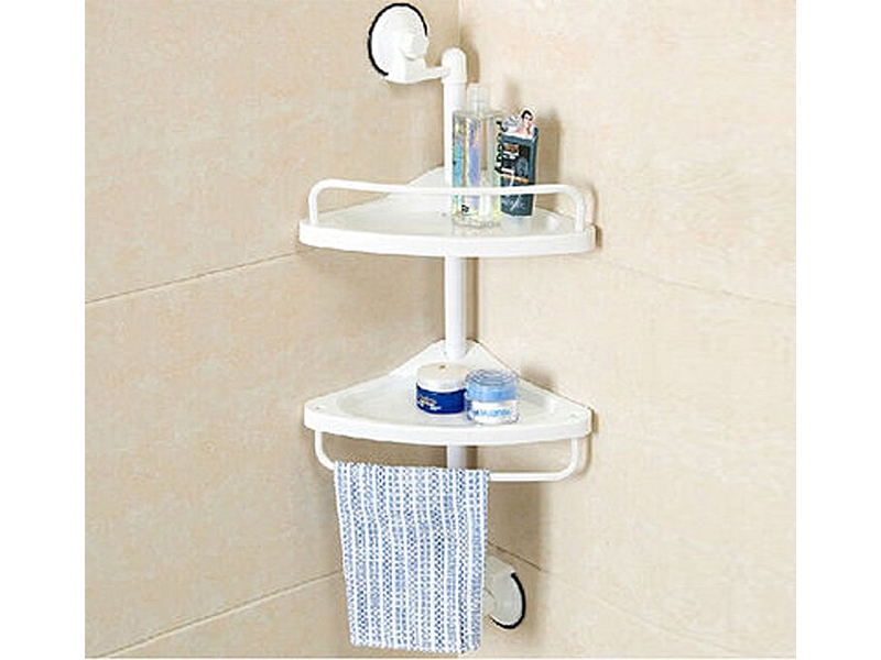 Corner Shelf Bathroom Organizer Shelf Towel Holder