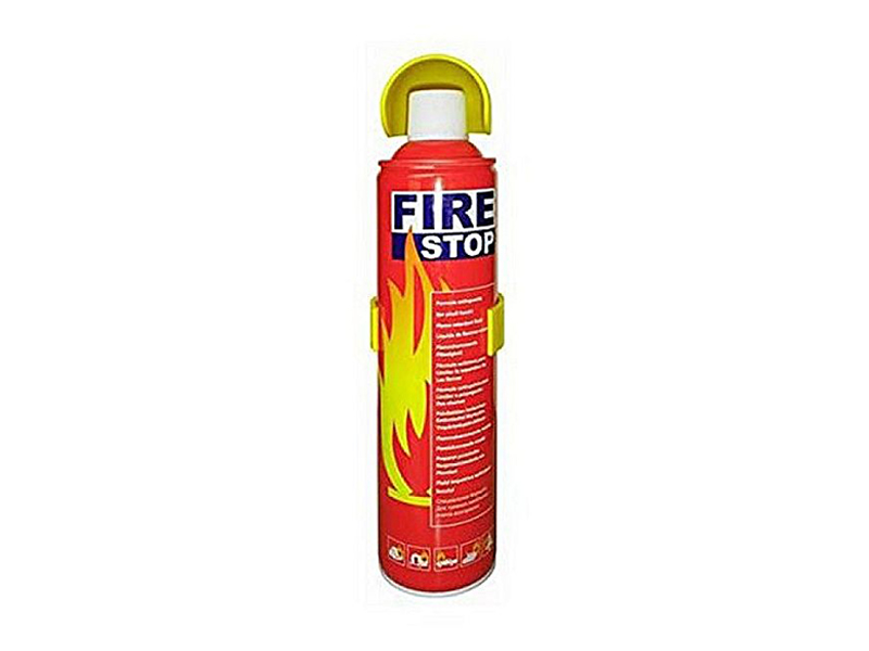 FIRE STOP CAR FIRE EXTINGUISHER WITH STAND 500 ML
