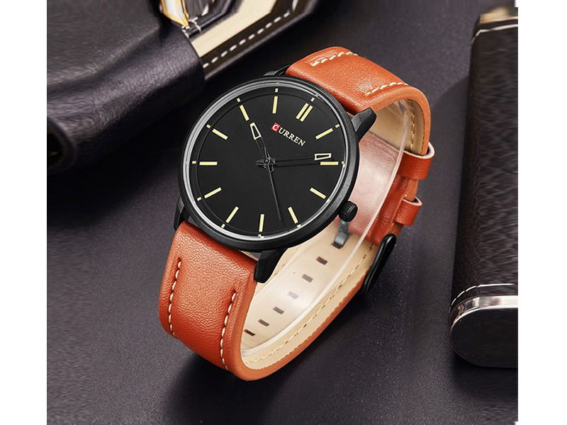 Curren Sandy Black Watch