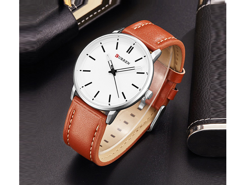 Curren Sandy White Watch