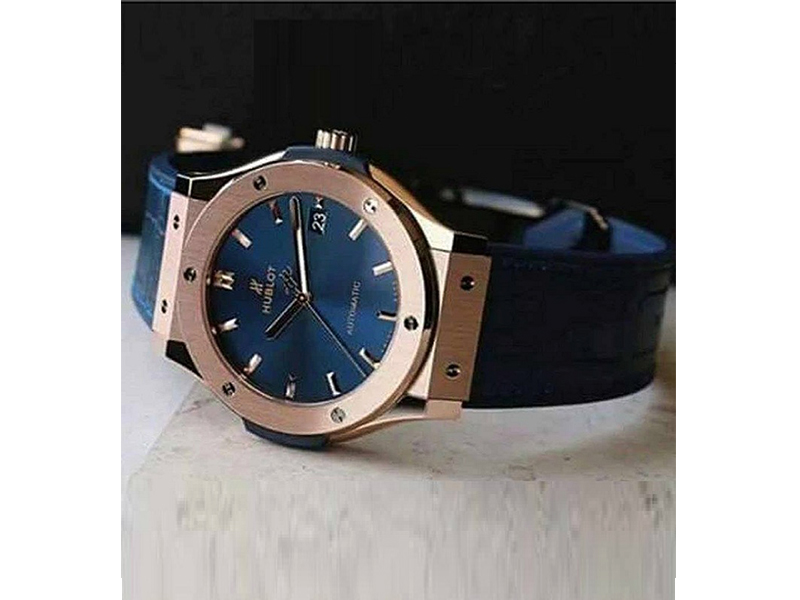 Hublot Blue Wrist Watch
