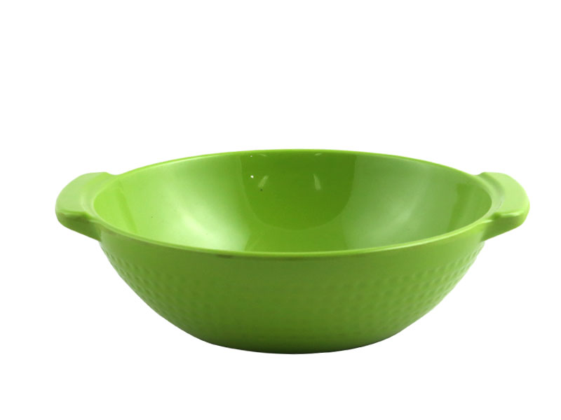 8'' Design Curry Bowl-Lime Green