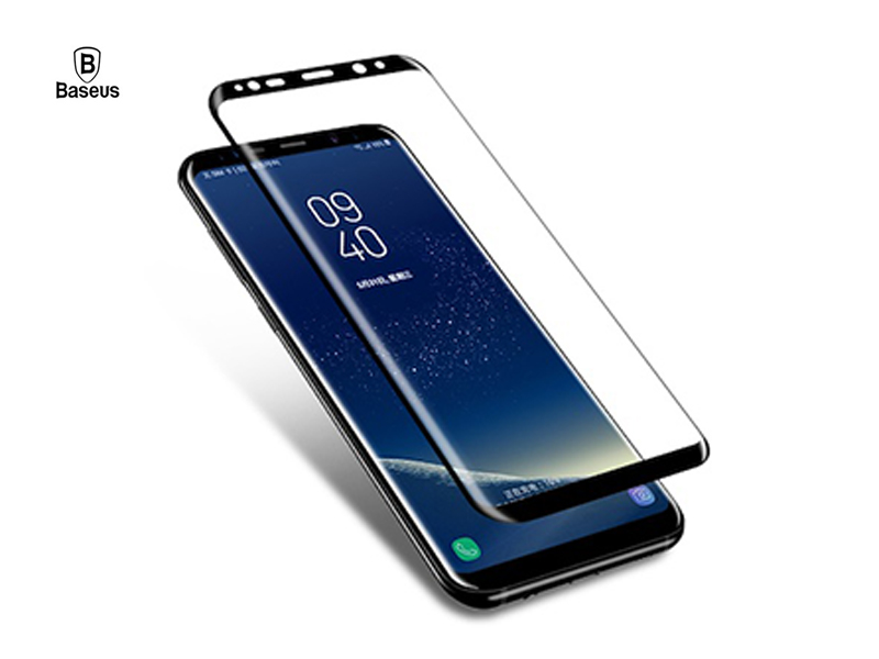 Baseus 3D Screen Protector For Samsung S8 0.3mm Ultra Thin 9H Full Coverage Tempered Glass