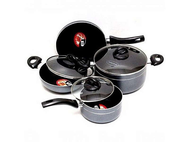 Kiam Kiam Non Stick 7 Pcs Cookware Set